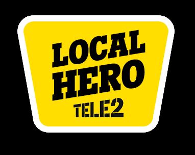Local Hero Tele2 ctie
